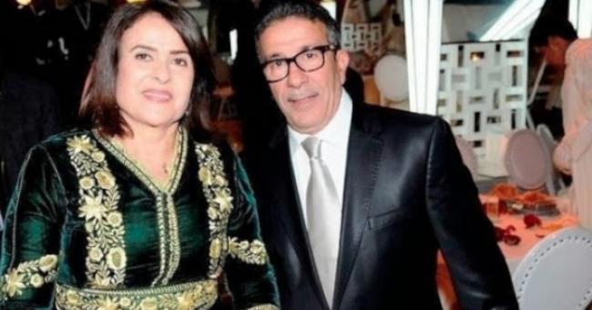 Khadija Assad et son mari, Aziz Saadallah, décédé il y a quelques mois