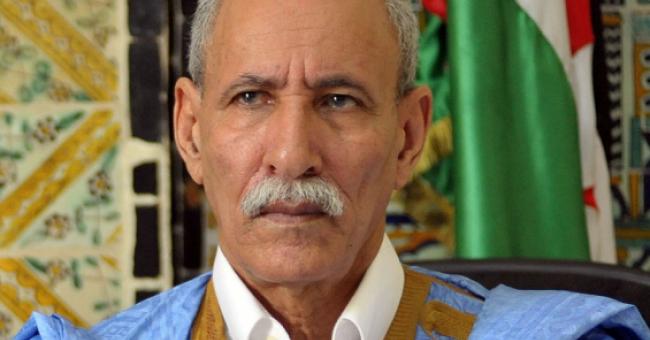 Brahim Ghali, le président de la République arabe sahraouie démocratique (RASD) et secrétaire général du Front Polisario