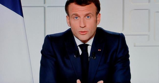 Le président de la République Emmanuel Macron, pris en photo le 31 mars 2021, à Paris © AFP