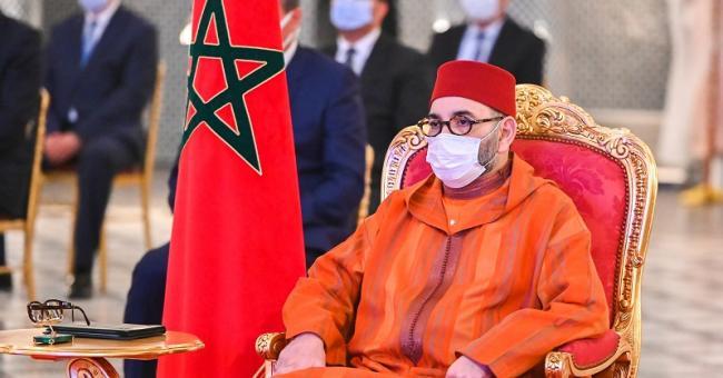 Le Roi Mohammed VI au palais royal de Fès © DR