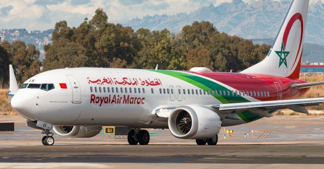 Avion de Royal Air Maroc © DR