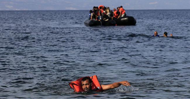 Une centaine de Marocains ont essayé de joindre Sebta à la nage © DR