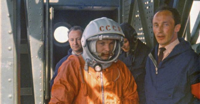 Youri Gagarine est le premier homme à s'être envolé dans l'espace © DR