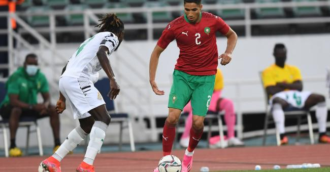 Maroc vs Ghana en amical, le 8 juin 2021 © DR