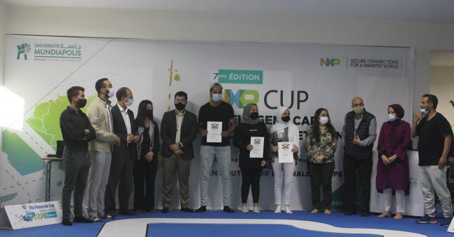 Mundiapolis : l'École d'Ingénieurs se classe 2e à NXP Cup EMEA 2020/2021 © DR
