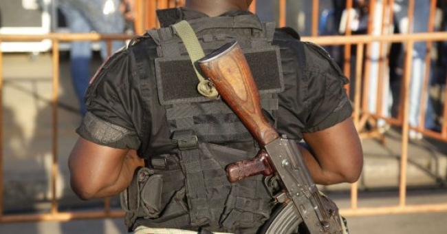 Un militaire ivoirien, à Abidjan en avril 2015 (Photo d'illustration) © AP Photo/Schalk van Zuydam