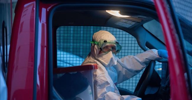 Personnel médical au Maroc © Jalal Morchidi - Anadolu Agency