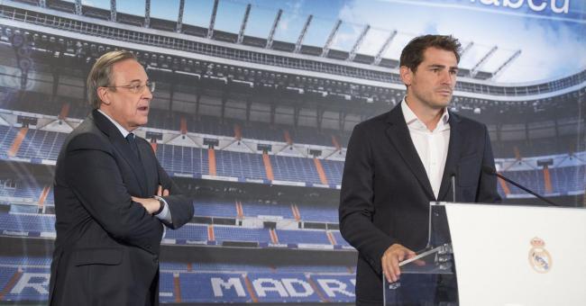 Dans les audios, Perez s'est attaqué à deux légendes du Real dont Iker Casillas © DR