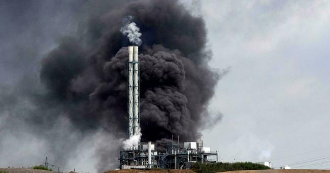 Allemagne: explosion et incendie sur le site chimique de Leverkusen © AFP