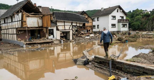 Au moins 81 personnes sont mortes et des milliers d'autres sont portées disparues en Allemagne © AFP