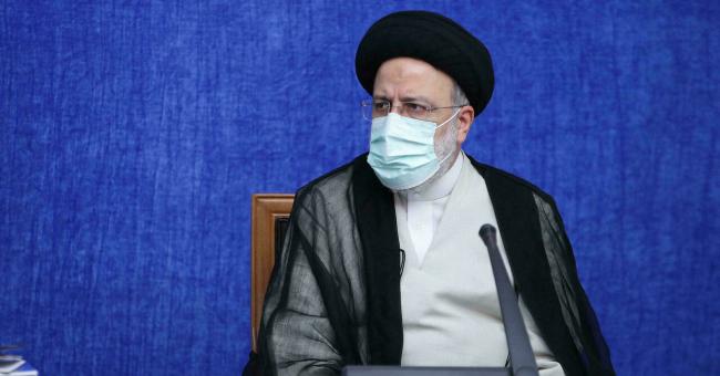 Le religieux ultraconservateur Ebrahim Raïssi le 4 août 2021, à Téhéran © AFP