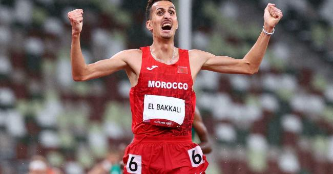 Soufiane El Bakkali remporte la médaille d'or olympique © Reuters