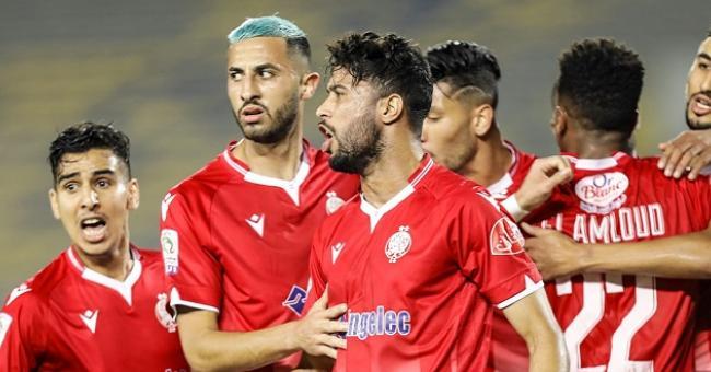 Le Wydad Casablanca, champion de la saison 2020-2021 © DR