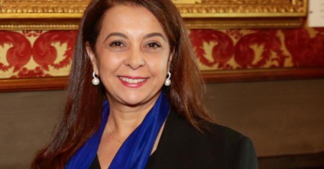 Karima Benyaich, ambassadrice du Maroc en Espagne © DR