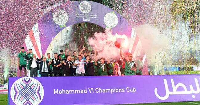 Le RCA remporte la Coupe Mohammed VI des clubs arabes champions © DR