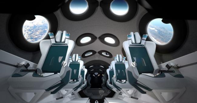 Virgin Galactic a dévoilé l'intérieur de son vaisseau © Handout / Virgin Galactic/The Spaceship Company
