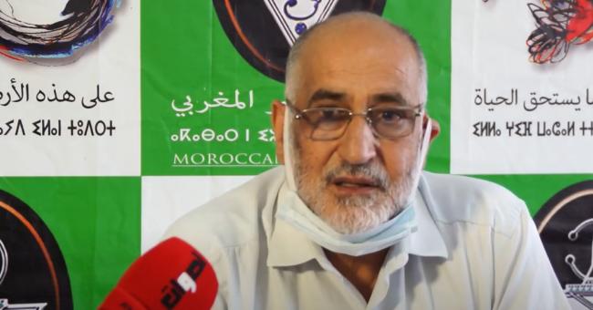 Mohammed Fares, secrétaire général du PVM, invité sur la chaîne Aswat en juin 2021 © Capture d'écran, YouTube