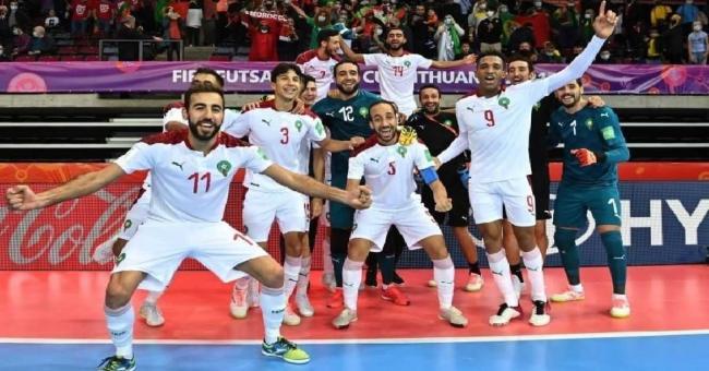La sélection marocaine de futsal © DR