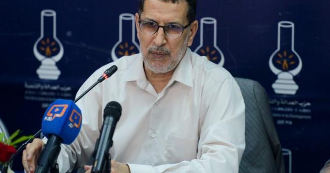 Saad Dine El Otmani, secrétaire général du PJD © DR