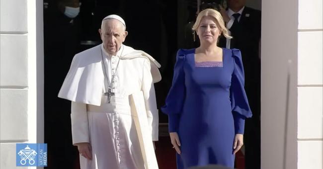 Slovaquie : arrivée du pape François pour une visite de quatre jours