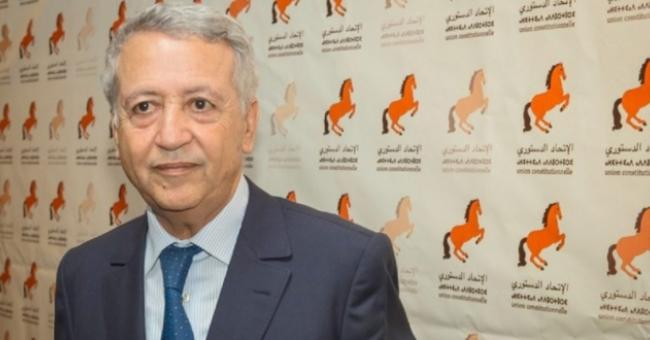 Mohamed Sajid, secrétaire général de l'Union constitutionnelle © DR