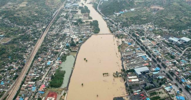 Chine : inondations meurtrière dans le Shanxi