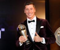 Robert Lewandowski, vainqueur du trophée The Best © DR