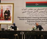 réunion de coordination entre la Chambre des représentants et le Haut conseil d'État