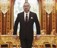 Le Roi adresse un message au président portugais