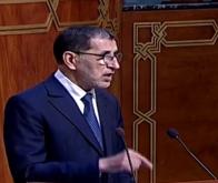 Saad Dine El Otmani à la Chambre des conseillers © DR