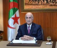 Le président algérien Abdelmajid Tebboune