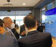 Le ministre de l'Industrie, Moulay Hafid El Alamy, était à l'inauguration officielle de l'African SuperComputing © DR