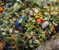 Photo prise le 23 octobre 2012 à Morsbach de déchets alimentaires transformés en énergie © AFP