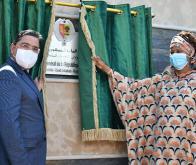 Nasser Bourita et Aïssata Tall Sall lors de l'inauguration du consulat général du Sénégal à Dakhla © DR