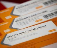 Des doses du vaccin développé par le laboratoire chinois Sinovac © Reuters