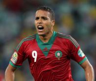 Le footballeur international marocain Youssef El-Arabi © Anesh Debiky/Gallo/Presse Sports