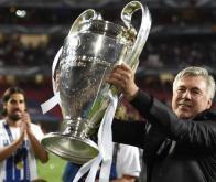 Carlo Ancelotti, vainqueur de la Ligue des Champions avec le Real Madrid © DR