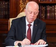 Le président tunisien Kaies Saied © DR
