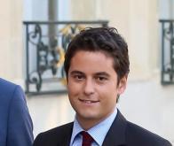 Gabriel Attal, porte parole du gouvernement français © DR