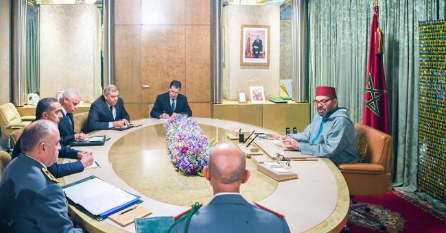 Le roi Mohammed VI préside un Conseil des ministres