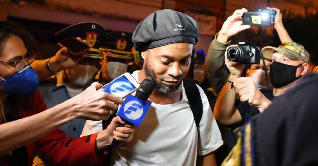 Ronaldinho est sorti de prison