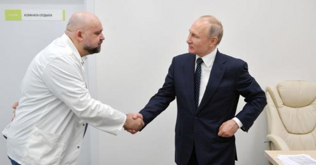 Coronavirus : Vladimir Poutine exposé