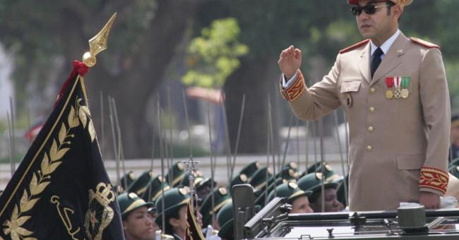 Les Forces armées royales et Mohammed VI