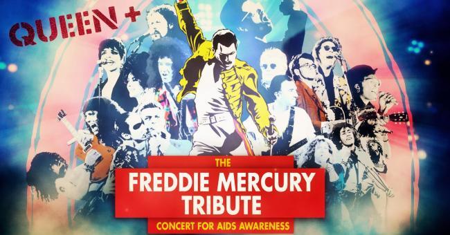 Le concert hommage à Mercury diffusé sur YouTube