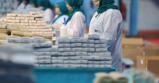 18,5 millions de masques exportés par le Maroc