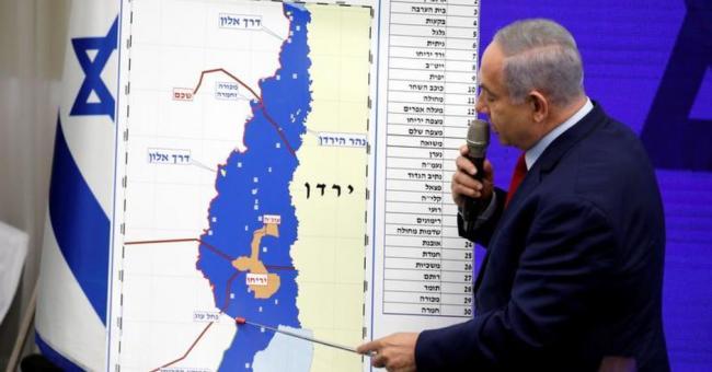 plans d'annexion de la Cisjordanie