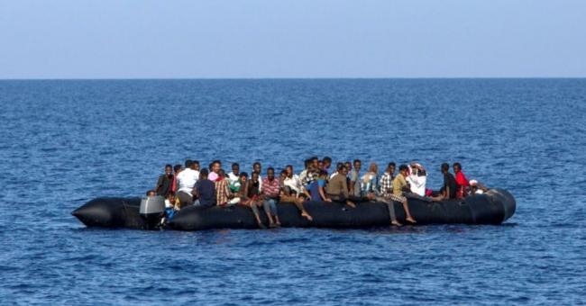 Subsahariens au large de la Méditerranée