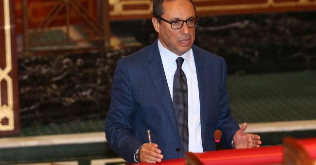 Abdelkader Amara, ministre de l'Équipement, du Transport, de la Logistique et de l'Eau