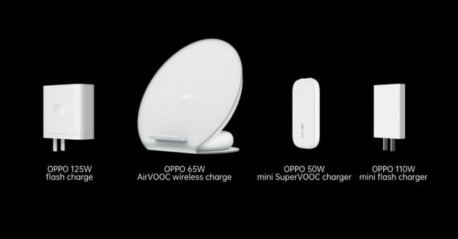 OPPO lance trois nouvelles technologies de charge rapide
