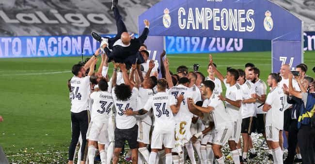 Le Real Madrid décroche un nouveau titre de champion